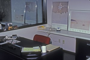 My Office at Video Post in 1985
