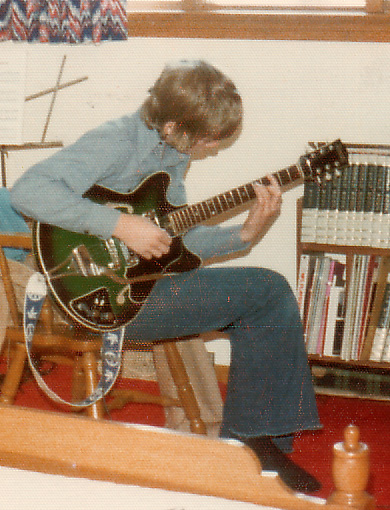 First Electric Guitar - 1974